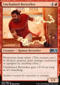 Unchained Berserker - Core Set 2020