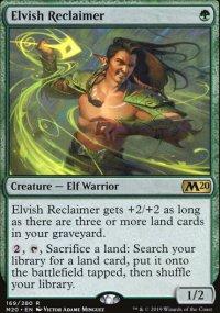 Elvish Reclaimer -