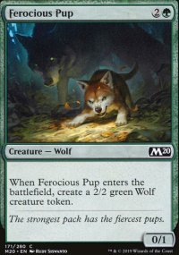 Ferocious Pup - Core Set 2020