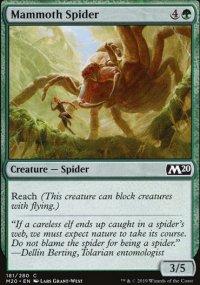 Mammoth Spider -