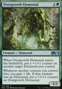 Overgrowth Elemental - Core Set 2020