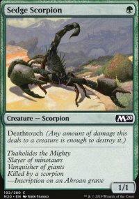 Sedge Scorpion -