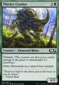 Thicket Crasher - Core Set 2020