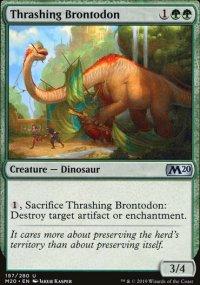 Thrashing Brontodon -