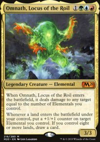 Omnath, Locus of the Roil - Core Set 2020