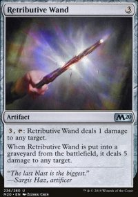 Retributive Wand - Core Set 2020