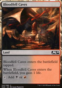 Bloodfell Caves - Core Set 2020