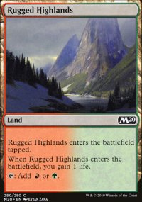 Rugged Highlands - Core Set 2020