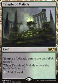 Temple of Malady - Core Set 2020