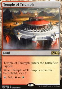 Temple of Triumph - Core Set 2020