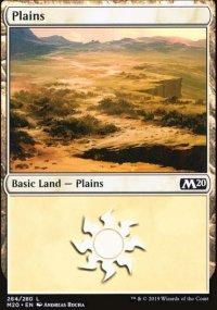 Plains 4 - Core Set 2020