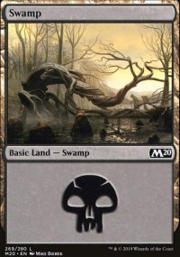 Swamp 1 - Core Set 2020