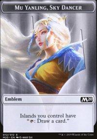 Emblem Mu yanling, Sky dancer -