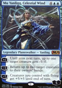 Mu Yanling, Celestial Wind - Core Set 2020