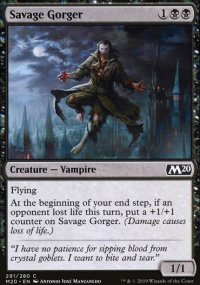 Savage Gorger - Core Set 2020
