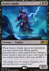 Sorin's Guide - Core Set 2020