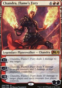 Chandra, Flame's Fury - Core Set 2020