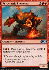 Pyroclastic Elemental - Core Set 2020