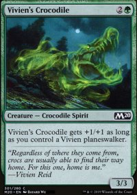 Vivien's Crocodile - Core Set 2020