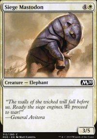 Siege Mastodon -