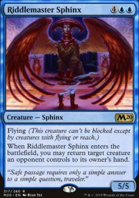 Riddlemaster Sphinx - Core Set 2020