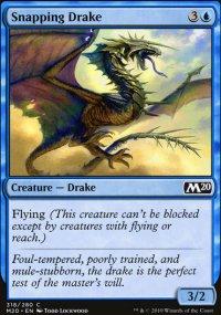 Snapping Drake -