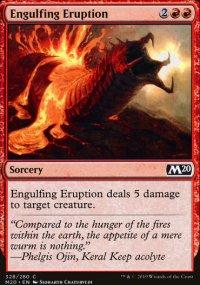 Engulfing eruption -