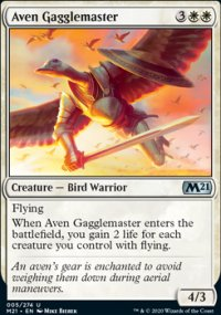 Aven Gagglemaster - Core Set 2021