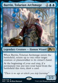 Barrin, Tolarian Archmage 1 - Core Set 2021
