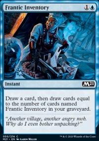 Frantic Inventory 1 - Core Set 2021