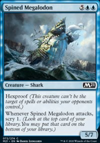 Spined Megalodon - Core Set 2021