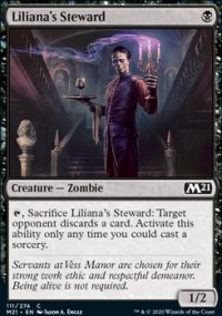 Liliana's Steward 1 - Core Set 2021