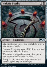 Malefic Scythe - Core Set 2021