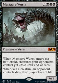 Massacre Wurm -