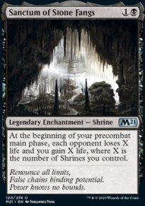 Sanctum of Stone Fangs - Core Set 2021