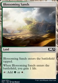 Blossoming Sands -
