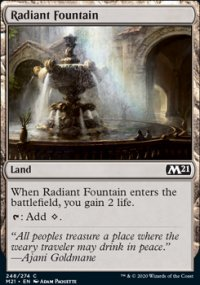 Radiant Fountain -