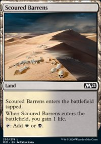 Scoured Barrens - Core Set 2021