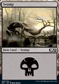 Swamp 1 - Core Set 2021