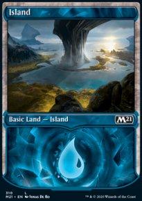 Island 4 - Core Set 2021
