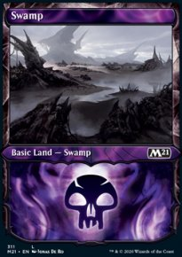 Swamp 4 - Core Set 2021