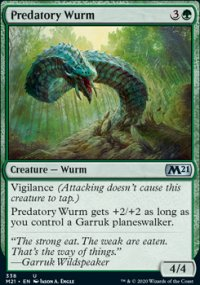 Predatory Wurm - Core Set 2021