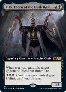 Vito, Thorn of the Dusk Rose -
