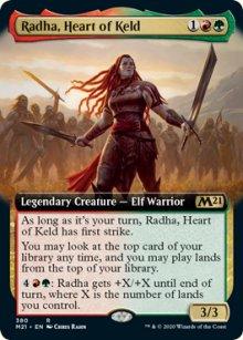 Radha, Heart of Keld -