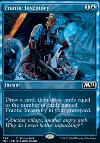 Frantic Inventory -