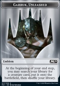 Emblem Garruk, Unleashed -