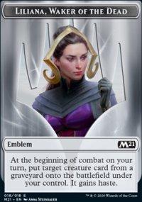 Emblem Liliana, Waker of the Dead -