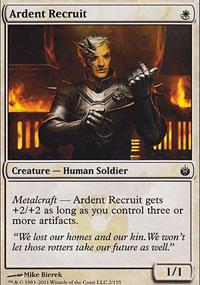 Ardent Recruit - Mirrodin Besieged