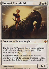 Hero of Bladehold - Mirrodin Besieged