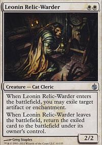 Leonin Relic-Warder - Mirrodin Besieged